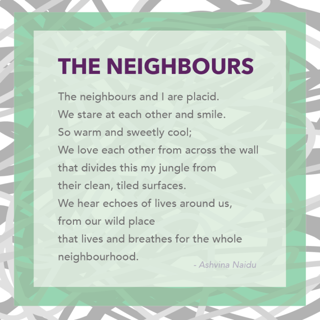 poem the neighbours glowdown